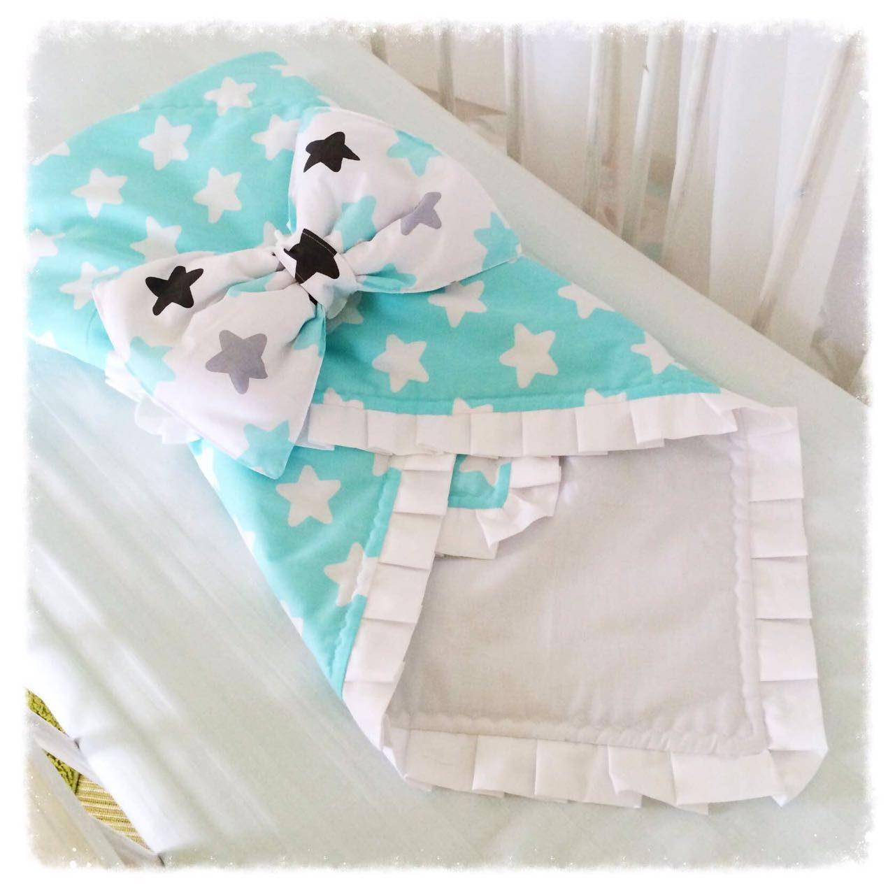 Вариант 1: Конверт -одеяло на выписку 97